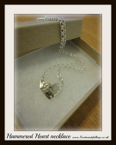 Hey, I found this really awesome Etsy listing at https://www.etsy.com/uk/listing/463334717/hammered-heart-necklace