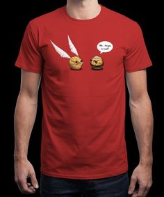"""Ferrero Meets Snitch"" is today's £8/€10/$12 tee for 24 hours only on www.Qwertee.com Pin this for a chance to win a FREE TEE this weekend. Follow us on pinterest.com/qwertee for a second! Thanks:)"