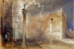 William Turner, La Piazzetta, 1835