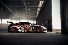 #carwrapping #nissan gtr wrap #car branding #nissan godzilla wrap