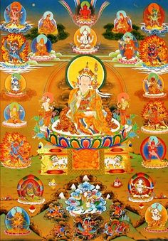 If you do not know how to meditate, look carefully at the nature of that which causes you to be afraid, and you will see the emptiness that has no nature whatsoever ― this is what is called the dharmakaya  (the Buddha body of truth).  That emptiness is not a negation; its essence is transcendental awareness, so lucid and dazzling that it is frightful to see ― this is the mind of the sambhogakaya (the Buddha body of delight).  Emptiness and luminosity are not two separate things, but rather…