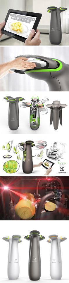Tree of Life is a sophisticated all-in-one refrigerator/cooker that can create an entire meal of the user's choice with an organic polymer and flavoring system. Control it with your tablet and choose what you want for breakfast, lunch or dinner. Whatever you're craving, it can make it appear in a jiffy.