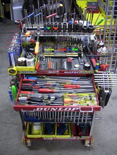 super tuned tool cart pics motorcycle purposed the garage journal board