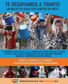 La ELA existe / Ice Bucket Challenge