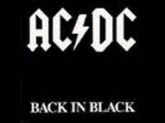 acdc back in black  -ACDC on yksi tunnetuimmista rockbändeistä