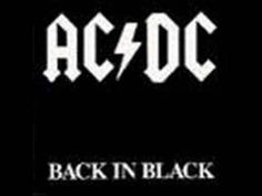 Back in Black is an album by Australian hard rock band AC/DC. It is the seventh Australian and sixth internationally released studio album by the band. Pop Rock, Rock And Roll, Ac Dc, Back To Black, Black 7, Bon Scott, Black Sabbath, Iron Maiden, 80s Music