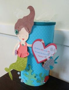 a little sparkle: Valentine Box thinking this could be this years project!!