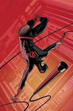 Variant cover for July's Daredevil #9!
