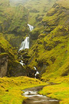 Cascada en #Vik, #Islandia #Iceland