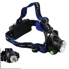 Special Offers - WindFire 1800 Lumens CREE XM-L T6 U2 LED Zoomable 3 Modes Design Headlamp CREE LED Headlight 18650 Rechargeable Battery Focus Adjustable LED Headlamp Head LED Torch Flashlight with Charger for Hiking Riding Camping etc. (Batteries not included) - In stock & Free Shipping. You can save more money! Check It (November 22 2016 at 01:57AM)…