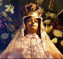 """La patrona del caserío Chantaco """"Virgen de las Mercedes"""","""
