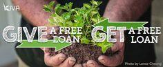 Give a free loan, get a free loan
