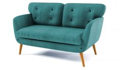 Rea 2 Seater Retro Sofa