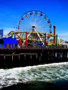 Santa Monica Pier-another place we visit everytime we are in california! West Coast California, Places In California, California Vacation, California Dreamin', Great Places, Places To See, Beautiful Places, I Love The Beach, Arizona Travel