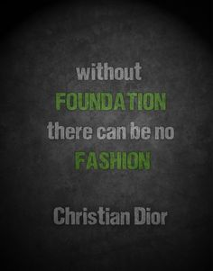 Without foundation......