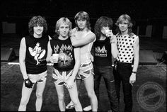 Def Leppard . . . need I say more?  Saw them a few years back and they STILL rock it!