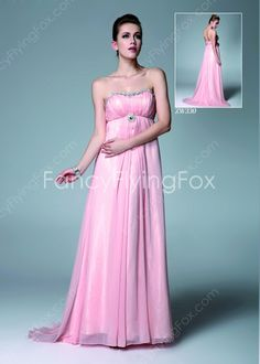 fancyflyingfox.com Offers High Quality Beautiful Shallow Sweetheart Empire Full Length Pink Bridesmaid Dresses ,Priced At Only US$155.00 (Free Shipping)