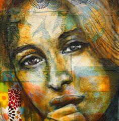 Christine Peloquin | Abstract Portrait /Figurative painter | Tutt'Art@ | Pittura * Scultura * Poesia * Musica |