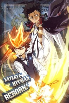 Katekyo Hitman Reborn Tsunayoshi Sawada VS. Xanxus