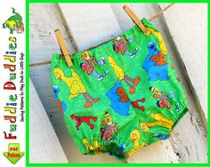 Infant Baby Boy's Girl's Pull up Diaper Cover by FuddieDuddies, $5.00