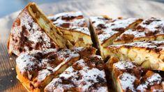 Ľahučký jablkový koláč s kokosom a čokoládou | Recepty.sk French Toast, Baking, Healthy, Breakfast, Ethnic Recipes, Sweet, Food, Basket, Morning Coffee