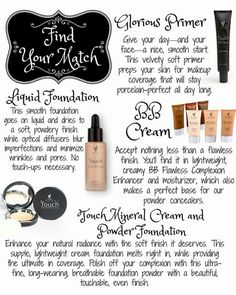 Younique has a wide range of natural based mineral face products! If you need…