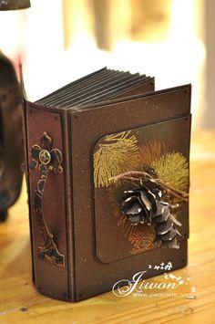 Jiwon Crafts Blog: Book Card
