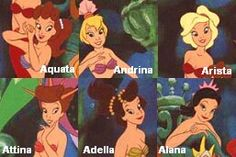 I'm sorry, but I'm not convinced that Ariel and her sisters all had the same mom.