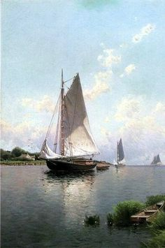 Alfred Thompson Bricher - Blue Point, Long Island