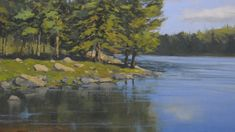 How to paint water with oil paints