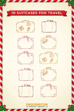 Paddington's passport is ready to be stamped. Who's traveling this holiday season?