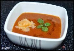 Paradajková polievka z pečených paradajok