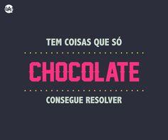 Vai um chocolate aí? :P Bom dia! #chocolate #bom #dia #frase #uatt