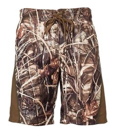 Bass Pro Shops® Realtree MAX-4® Swim Trunks for Men | Bass Pro Shops-They're for men, but i would still totally wear them!