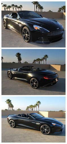 Stunner! 2014 #AstonMartin Vanquish Volante #SupercarSunday