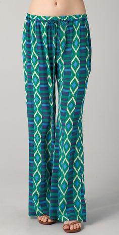 Most desired trend, printed pants @ BelleMonde  Dallin Chase | Fernando Printed Pants  #BelleMonde #Fashion