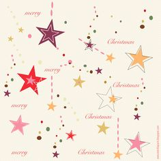 Free digital Christmas scrapbooking paper in star pop design - ausdruckbares Geschenkpapier - freebie | MeinLilaPark – digital freebies