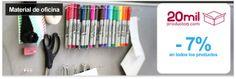 Material de oficina con 20milProductos - 7% de descuento en todos los productos