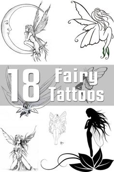 18 Fairy Tattoo Designs