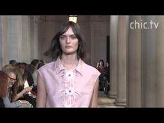Carolina Herrera New York Fashion Week Spring 2016 - YouTube