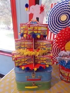 Treats at a Circus Party #circus #party