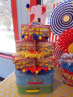 Treats at a Circus Party #circus #party