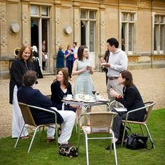 Phyllis, left, Sophie, Rob and Elizabeth BEHIND THE SCENES: DOWNTON ABBEY - Mirror Online