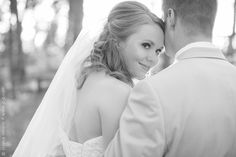 Mike and Abby - cute pic of bride and groom- photo courtesy of Jessica Simons Photography