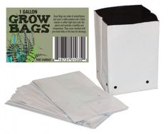 Black & White PE Grow Bags-10 gal. 688610