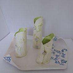 New: Lime Green Porcelain work inspired by the garden Glass Vase, Lime, Porcelain, Ceramics, Contemporary, Inspired, Garden, Handmade, Inspiration