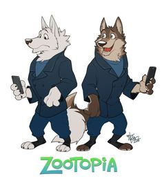 Takemoto - Zootopia Wolf Guards