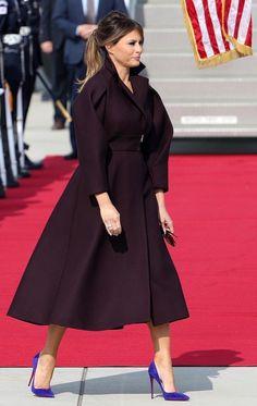 Women's Summer Fashion, Modest Fashion, Fashion Dresses, Milania Trump Style, Estilo Real, First Lady Melania Trump, Mode Vintage, Overall, Royal Fashion