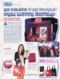 Publieditorial de Tilibra produzido para a cobertura da balada No Capricho, 2013.