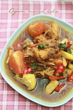 masam manis: Ayam Masak Halia mudah , ringkas dan sedap!